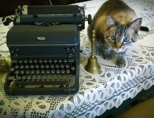 """If only more cats wrote poetry . . . ."""